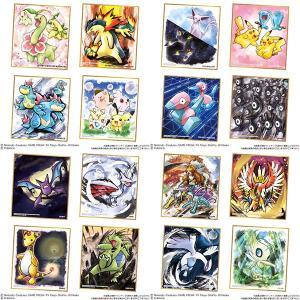 ポケモン 色紙ART2 10個入りBOX (食玩)[バンダイ]《発売済・在庫品》