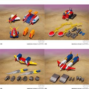 スーパーミニプラ 超電磁ロボ コン・バトラーV 4個入りBOX (食玩)[バンダイ]【送料無料】《発売済・在庫品》|amiami
