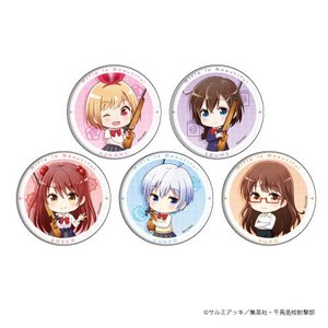 缶バッジ「ライフル・イズ・ビューティフル」01/ミニキャラ 5個入りBOX[A3]《01月予約》