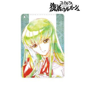 コードギアス 復活のルルーシュ C.C. Ani-Art 1ポケットパスケース vol.3[アルマビアンカ]《在庫切れ》|amiami