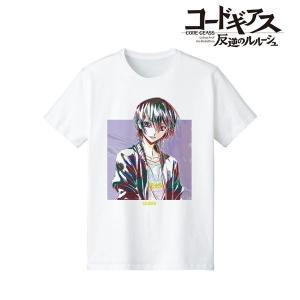 コードギアス 反逆のルルーシュ 描き下ろしイラスト ルルーシュ Casual Style Tシャツ Ani-Art ver. レディース L[アルマビアンカ]《01月予約》|amiami
