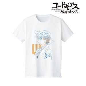 コードギアス 反逆のルルーシュ スザク lette-graph Tシャツ レディース M[アルマビアンカ]《04月予約》|amiami