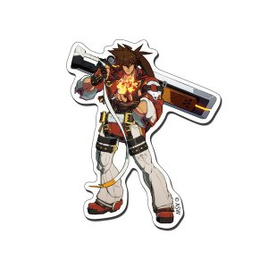 GUILTY GEAR -STRIVE- ステッカー 01.ソル[empty]《04月予約》|amiami