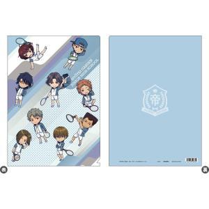 新テニスの王子様 氷帝vs立海 Game of Future クリアファイル/氷帝[ムービック]《発売済・在庫品》|amiami