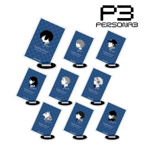 ペルソナ3 トレーディング バトルアイコン アクリルスタンド 9個入りBOX[アルマビアンカ]《08月予約》|amiami