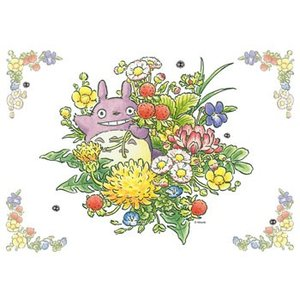 ジグソーパズル となりのトトロ 春の草花 108ピース(108-407)[エンスカイ]《発売済・在庫品》|amiami