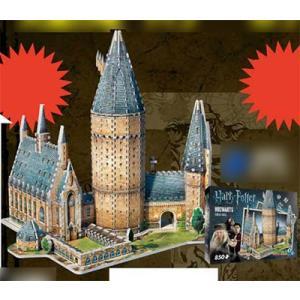 3Dジグソーパズル ハリー・ポッター ホグワーツ大広間 850ピース(B-3D01)[テンヨー]《在庫切れ》|amiami