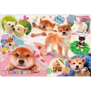 ジグソーパズル ペット I LOVE SHIBA 1000ピース(P61-424)[ビバリー]《在庫切れ》 amiami