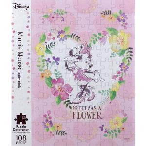 パズルデコレーション Minnie(ミニーマウス)-baby pink- 108ピース[エポック]《発売済・在庫品》|amiami