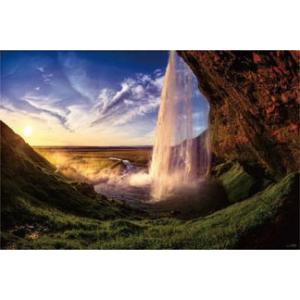 ジグソーパズル KAGAYA アイスランドの夕日(セリャラントスフォス) 1000ピース (10-1300)[やのまん]《発売済・在庫品》|amiami