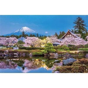 ジグソーパズル 日本風景 春桜の富士山(山梨) 1000ピース (10-1314)[やのまん]《04月予約》 amiami