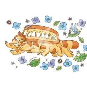 ジグソーパズル となりのトトロ アジサイとネコバス 150ピース(150-G58)[エンスカイ]《発売済・在庫品》|amiami