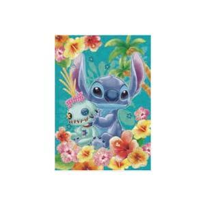 パズルデコレーション ディズニー Stitch(スティッチ)-tropical blue- 108ピース (72-009)[エポック]《発売済・在庫品》|amiami