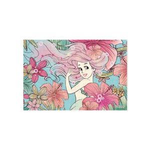 パズルデコレーションmini ディズニー Royal Floral(アリエル) 70ピース (70-010)[エポック]《発売済・在庫品》|amiami