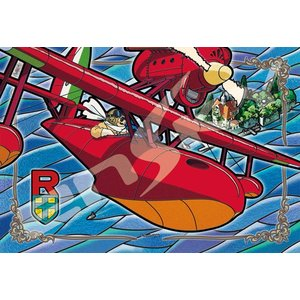アートクリスタルジグソー 紅の豚 アドリア海上空 300ピース (300-AC038)[エンスカイ]《発売済・在庫品》|amiami