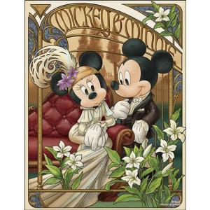 ジグソーパズル ベル・アール Disney アムルー ‐ミッキー&ミニー‐ 300ピース (42-59)[やのまん]《発売済・在庫品》|amiami