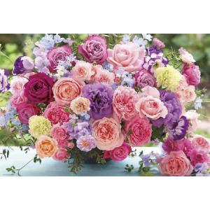 ジグソーパズル 花色セラピー 心潤うブルーミングローズ 600ピース (66-107)[ビバリー]《在庫切れ》|amiami