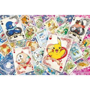 ジグソーパズル マジカルピースジグソー ポケットモンスター ポケモントランプアート 1000ピース (1000-MG010)[エンスカイ]《発売済・在庫品》|amiami