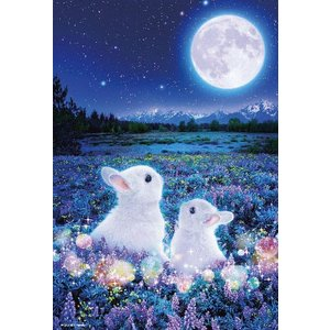 ジグソーパズル 月待ちうさぎ 600ピース(66-109)[ビバリー]《発売済・在庫品》|amiami