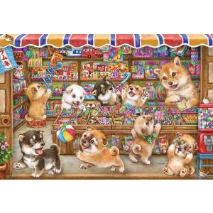 ジグソーパズル シバの駄菓子屋さん 1000ピース (31-521)[ビバリー]《在庫切れ》|amiami