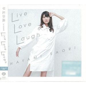 CD 早見沙織 / 「Live Love Laugh」 CD+Blu-ray盤[ワーナー・ブラザース]《取り寄せ※暫定》
