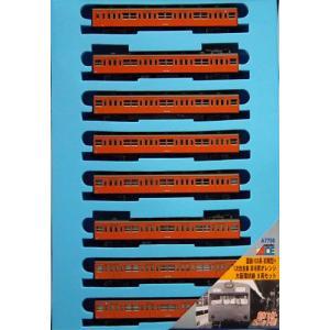 大阪環状線 A7756 8両セット 初期型+1次改良車 マイクロエース オレンジ 国鉄103系 非冷房