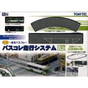 バスコレクション 走行システム 基本セットB2(広電バス仕様)(再販)[トミーテック]《取り寄せ※暫定》|amiami
