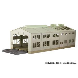 1/80 ペーパーキット 電車庫[プラム]《11月予約》|amiami