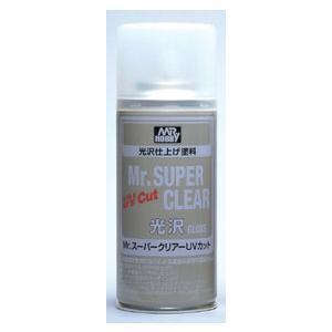 Mr.スーパークリアーUVカット光沢[GSIクレオス]《発売済・在庫品》|amiami