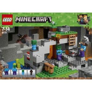 レゴ マインクラフト ゾンビの洞くつ(21141)[レゴジャ...
