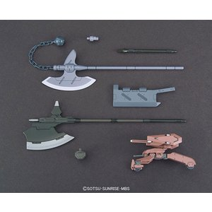 HG 機動戦士ガンダム 鉄血のオルフェンズ 1/144 MSオプションセット3&ギャラルホルンモビルワーカー(再販)[BANDAI SPIRITS]《発売済・在庫品》 amiami