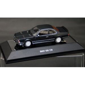 ダイキャスト・モデルカー 1/43 BMW 635CSi(ブ...