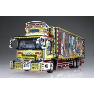 1/32 バリューデコトラ No.34 二代目髑髏丸(大型冷凍車) プラモデル[アオシマ]《取り寄せ※暫定》|amiami