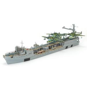 1/700 独海軍カタパルト飛行艇母艦ブッサルド1942 レジンキット(再販)[ニコモデル]《01月予約》 amiami