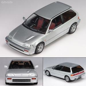 1/18 TRIPLE 9 COLLECTION Honda Civic EF-3 Si 1987 Silver[TRIPLE 9 COLLECTION]《取り寄せ※暫定》|amiami