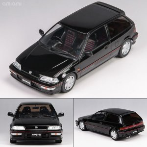 1/18 TRIPLE 9 COLLECTION Honda Civic EF-9 SiR 1990 Black[TRIPLE 9 COLLECTION]《取り寄せ※暫定》|amiami|01