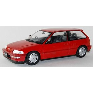 1/18 TRIPLE 9 COLLECTION Honda Civic EF-9 SiR 1990 Red[TRIPLE 9 COLLECTION]《取り寄せ※暫定》|amiami