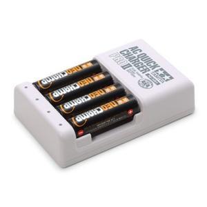 バッテリー&充電器シリーズ No.116 単3形ニッケル水素電池ネオチャンプ(4本)と急速充電器PR...