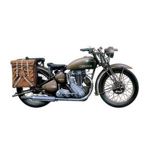 1/9 WW.II イギリス陸軍 軍用バイク トライアンフ 3HW プラモデル(再販)[イタレリ]《07月予約》