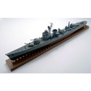 ウォーシップシリーズ 1/350 日本海軍駆逐艦 秋月 1942/1944コンバーチブルキット プラモデル[WAVE]《取り寄せ※暫定》|amiami