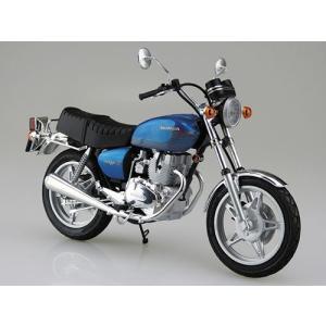 1/12 バイク No.38 ホンダ ホークII CB400T プラモデル(再販)[アオシマ]《01月予約》