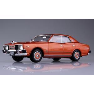 ザ・モデルカー No.53 1/24 ニッサン P332 セドリック/グロリア4HT 280Eブロアム '78 プラモデル[アオシマ]《取り寄せ※暫定》|amiami