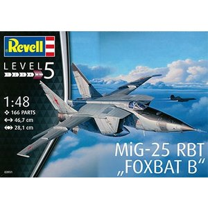 1/48 ミグ MiG-25 RBT プラモデル[ドイツレベル]《取り寄せ※暫定》|amiami
