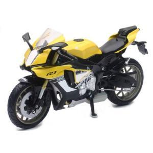 1/12 完成品バイク YAMAHA YZF-R1 2016 イエロー [スカイネット]の商品画像|ナビ