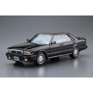 ザ・モデルカー No.62 1/24 ニッサン Y31 セドリック/グロリア V20ツインカムターボ グランツーリスモSV '87 プラモデル[アオシマ]《11月予約》|amiami