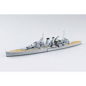 1/700 ウォーターライン 限定 英国重巡洋艦 エクセター スラバヤ沖海戦 プラモデル[アオシマ]《04月予約》