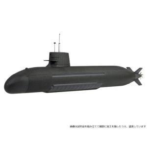 1/144 海上自衛隊 そうりゅう型潜水艦 プラモデル[モノクローム]《04月予約》