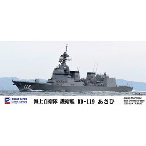 1/700 スカイウェーブシリーズ 海上自衛隊 護衛艦 DD-119 あさひ プラモデル[ピットロード]《09月予約》