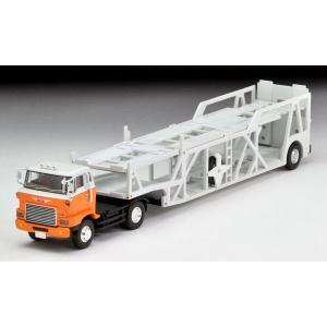 トミカリミテッドヴィンテージ ネオ LV-N89d 日野カートランスポーター(白/オレンジ)[トミーテック]《02月予約》|amiami