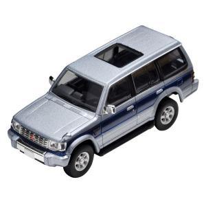 トミカリミテッドヴィンテージ ネオ LV-N189b パジェロ スーパーエクシードZ(銀/青)[トミーテック]《発売済・在庫品》|amiami